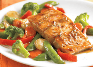 how to lose weight during menopause involves a lot of salmon